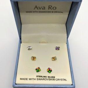 Ava Ro Crystal Earrings